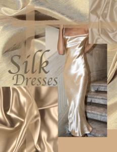 Silk Dress Looks