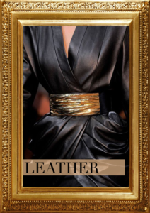 Incorporating leather into the wardrobe